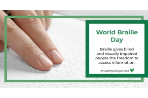 World Braille Day Blog.