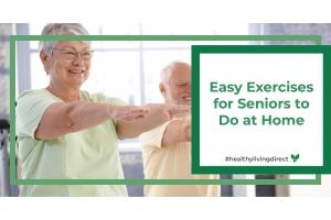 Easy Exercises for Seniors to Do at Home Blog.