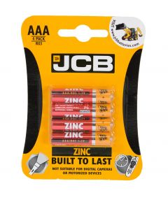 Pack of 4 x AAA Batteries