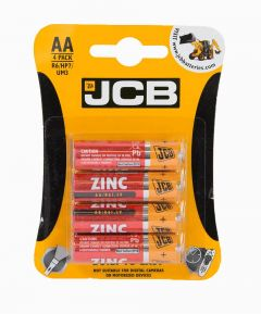 Pack of 4 x AA Batteries