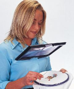 Deluxe Hands Free Magnifier with Light
