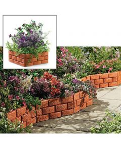 Brick Effect Garden Edging