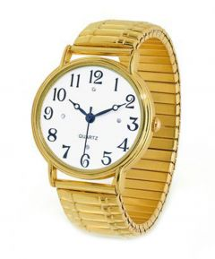 Gold Stretch Men's Watch