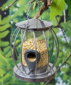Bird Feeders Mini Caged Seed Feeder