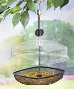 Hanging Wild Bird Feeder with Free Mealworms