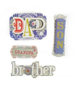Family Craft Embellishment Father