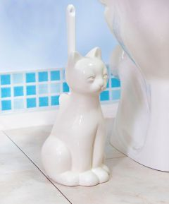 Cat Loo Brush Holder