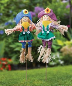Set of 2 Scarecrows