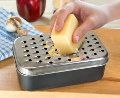 Grater Set with Lid and Catcher Box