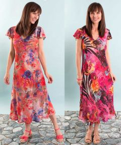 2 in 1 Capped Sleeved Dress
