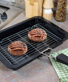 Enamel Grill Pan and Rack