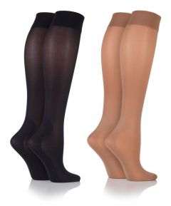 Ladies Soft Touch Compression Socks - Size 4-7