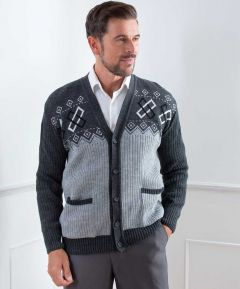 Men's Button Cardigan