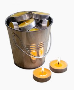 Citronella Tealights In Tin - Pack of 25