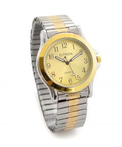Gent's Two Tone Stretch Citron Watch