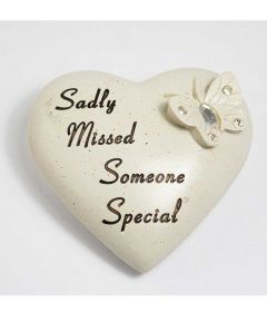 Diamante Butterfly Heart - Someone Special