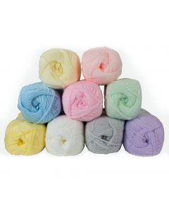 Baby Double Knitting Acrylic Yarn - Pastel