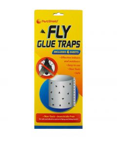 PestShield Fly Glue Traps 4pk