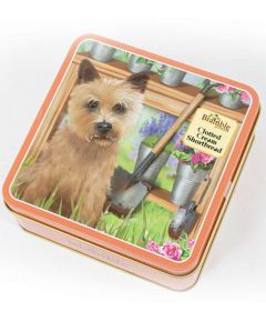 Bramble Terrier Tin with Shortbread