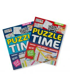 A4 Puzzle Time x2