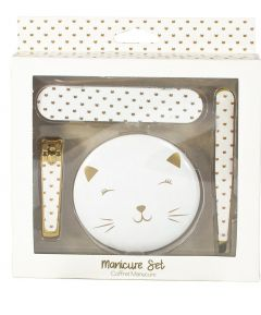 Cat Manicure 4 piece Gift Set