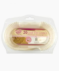 Queen of Cakes Loaf Tin Liners - PK20