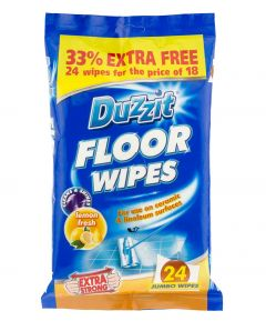 Duzzit Floor Wipes - Pk24