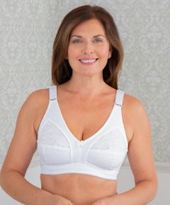 Soft Cotton Wide Strap Bra