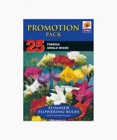 Bulb Promotion Pack - Freesia Single Mixed 25 Pack