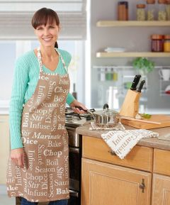 Cooking Words Apron
