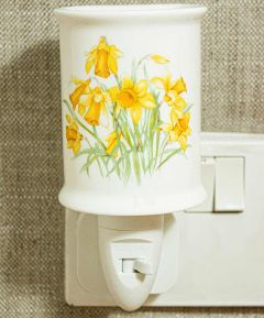 Daffodil Ceramic Nightlight