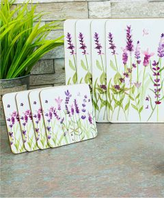 Lavender Placemats & Coasters Set