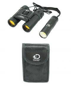 Binoculars and Torch set with Case
