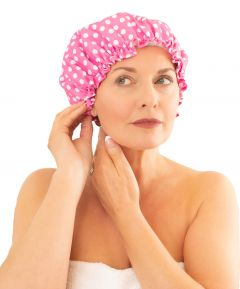 Spotty Shower Cap (PK2)