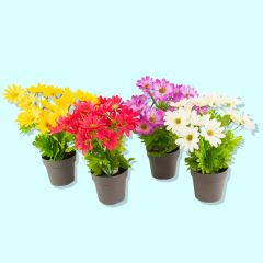 Artificial Potted Chrysanthemum
