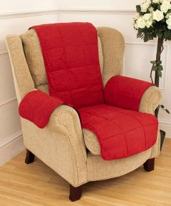 Quilted Furniture Protector for Arm Chair