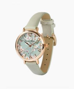 Elegant Floral Dial Watch