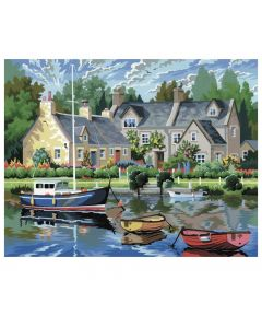 Painting by Numbers - Tranquil Waters