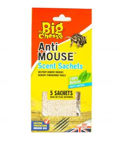 Anti Mouse Scent Sachets - 5PK