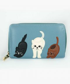 Cat Design Purse
