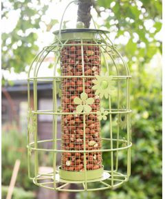 Flower Cage Peanut Feeder