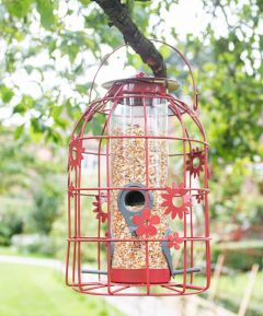 Flower Cage Seed Feeder