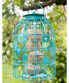Flower Cage Fatball Feeder