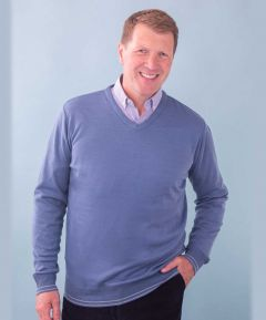 Gents V-neck Jumper