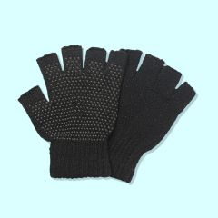 Men's Fingerless Gripper Gloves