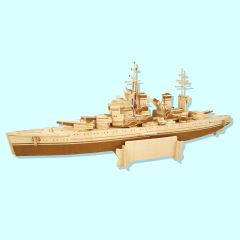 Wood Construction Kit - HMS Prince of Wales