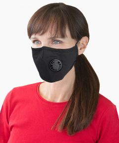 Reusable Face Covering with Valve