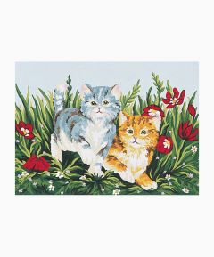 Tapestry Canvas - Playful Kittens