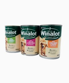 Winalot Dog Food 400g - Asst Flavours - Pack of 24