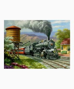 Painting By Numbers - No. 90s Dairy Run/Train